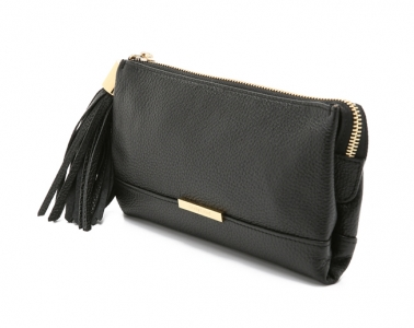 Vicki Pouch Black  by Chloé