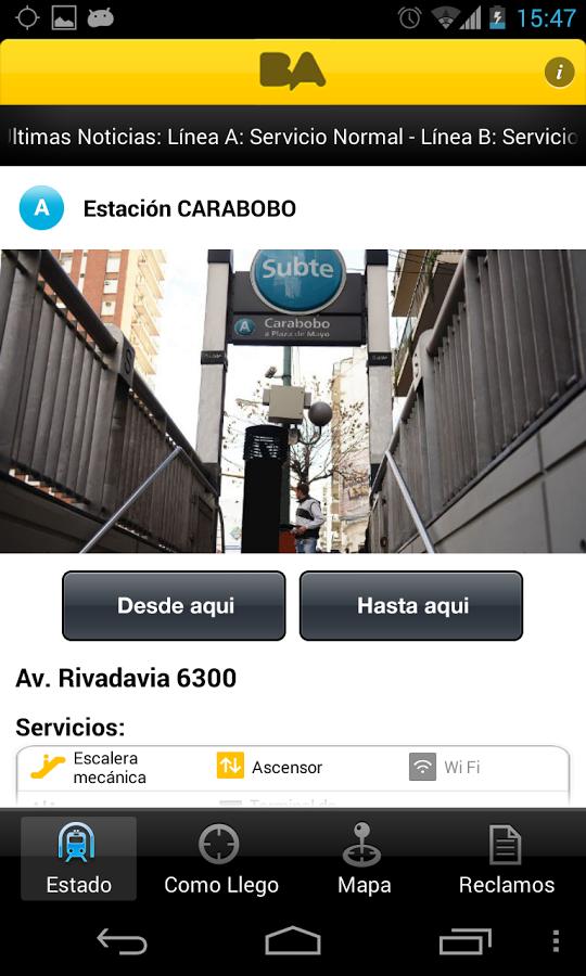 App BA Subte