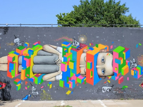 Seth en Buenos Aires -StreetArt