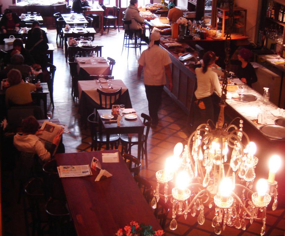 Comida y teatro en Buenos Aires